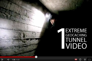 Featured 1 Extreme Geocaching Tunnel Video