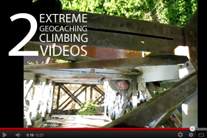 Featured 2 Extreme Geocaching Climbing Videos