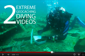 Featured 2 Extreme Geocaching Diving Videos