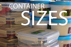 Featured Container Sizes