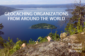 Featured Geocaching Organizations Portugal, Russia, Norway