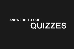 Featured Quiz Answers