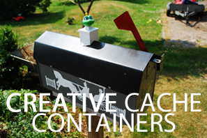 Featured Creative Cache Containers
