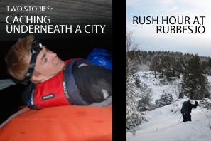Featured Caching Underneath A City and Rush Hour At Rubbesjö kopiera
